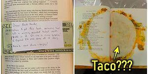 Hikayeler Kadar Yaşanmışlıkları da Taşıyan İkinci El Kitapların İçinden Çıkan Birbirinden İlginç Sürprizler