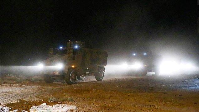 Milli Savunma Bakanlığı, dün gece kara harekâtının da başladığını açıkladı.👇