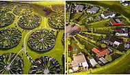 Danimarka'daki Brøndby Köyü Bildiğimiz Tüm Mimari Tasarımları Unutturup Tası Tarağı Toplayıp Gitme İsteği Uyandırıyor!