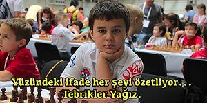Türkiye ve Avrupa Şampiyonu Yağız Kaan Erdoğmuş, 8 Yaş Dünya Sıralamasında Bir Numara!