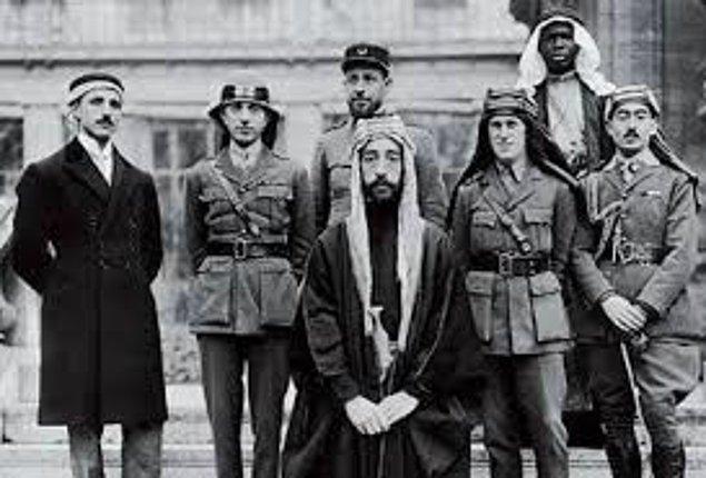1945 - Mısır, Suriye, Irak ve Lübnan, Filistin topraklarında devlet kurmak isteyen Yahudilere karşı Arap Cemiyeti'ni kurdu.