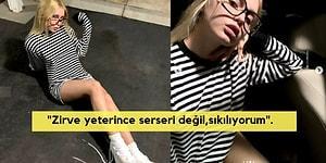 """Aleyna Tilki, """"Zirve Yeterince Serseri Değil, Sıkılıyorum"""" Diyerek Paylaştığı Fotoğrafıyla Sosyal Medyayı Salladı!"""