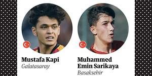 2002 Doğumlu En iyi Genç Yetenekler Listesinde İki de Türk Futbolcu Var