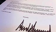 Görenler İnanamadı: Trump'ın Erdoğan'a Yazdığı Bir Mektup Basına Sızdırıldı