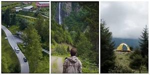 'Bana Türkiye'yi Göster' Diyerek Yola Çıkan Gezgin, Trabzon'un Muhteşem Güzelliklerini Bir Bir Anlattı