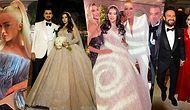 Gösterişli Bir Gelinlik, Acayip Bir Düğün! Modacı Gülnur Güneş'in Düğününe Gitmeyen Ünlü Kalmadı!