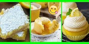 Görüntüsüyle Gözlerinizden Kalpler Çıkaracak 11 Nefis Limonlu Tatlı Tarifi