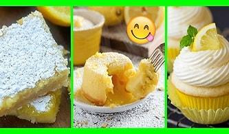 Mutfakları Sarıya Boyayalım! Görür Görmez Ağızların Suyunu Akıtacak 11 Limonlu Tatlı Tarifi