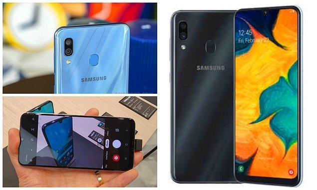 2. Samsung Galaxy A30 (Ortalama fiyat: 1900 TL)