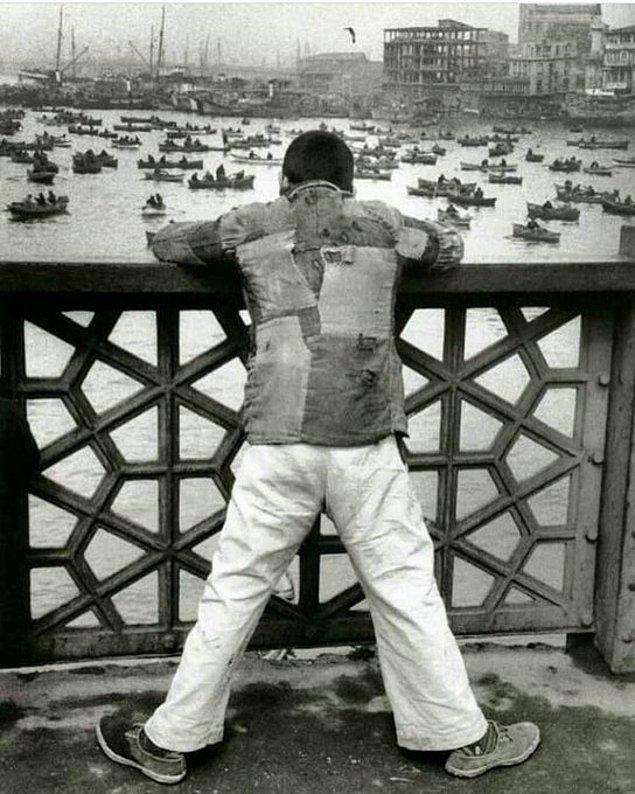 4. Galata Köprüsü, İstanbul, 1950'ler.