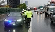 Çakarlı Araç Denetiminde İlk Gün Bilançosu: 63 Sürücüye 126 Bin Lira Ceza