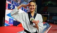 Milli Tekvandocu İrem Yaman G4 Ekstra Avrupa Şampiyonası'nda Altın Madalya Kazandı