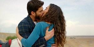 ATV'de Yayınlanan Hercai Dizisindeki Reyyan ile Miran'ın Dikkatleri Üzerine Çeken Öpüşme Sahnesi