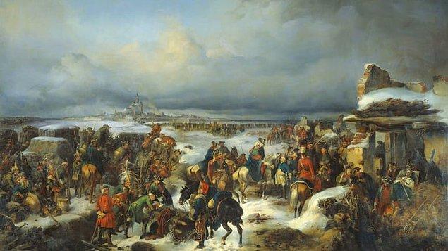 1757 - Prusya Kralı II. Friedrich, Yedi Yıl Savaşları'nda Fransa'yı, Rosbach'da yendi.