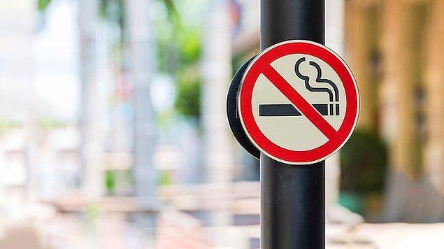Sigara içmenin cezası 153 liradan 187 liraya yükselecek.