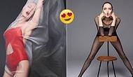 44 Yaşındaki Angelina Jolie'nin Hala İlk Günkü Gibi Nefeslerinizi Kesecek Harper's Bazaar Dergisi İçin Verdiği Pozlar