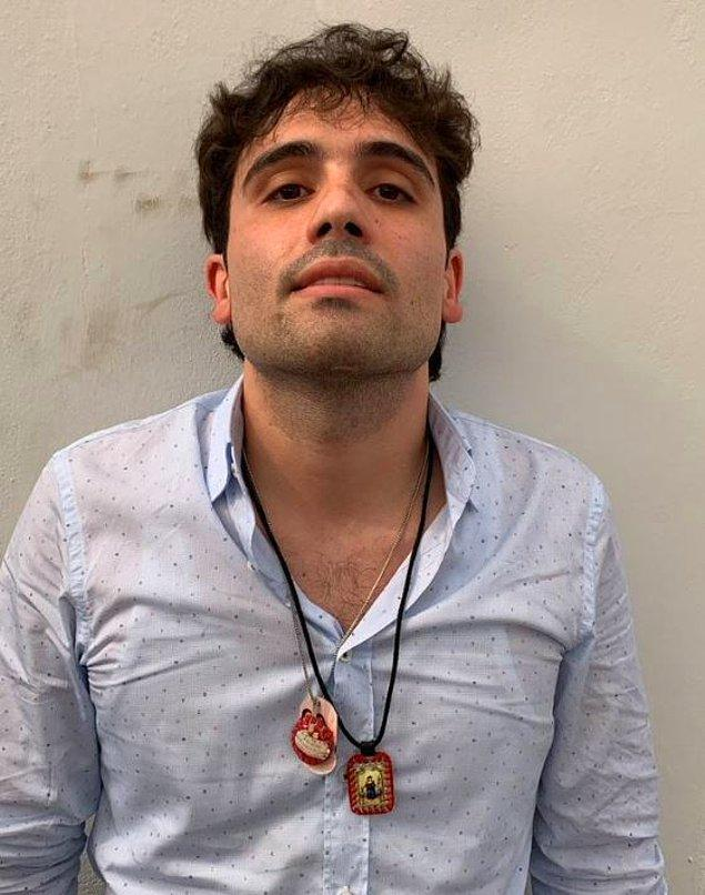 El Chapo'nun oğlu Ovidio Guzmán López, Perşembe öğleden sonra gözaltına alındı.