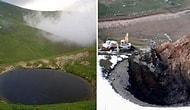 Valilik Onaylı Kazı: Gümüşhane'deki Dipsiz Göl'ün Suyu, Define İddiası Üzerine Tahliye Edildi