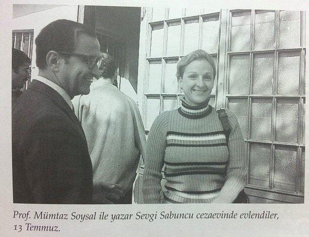 Toplam 14.5 ay Mamak Cezaevi'nde kaldı. Mamak Cezaevi'nde iken Türk edebiyatının önemli isimlerinden Sevgi Soysal ile evlendi.