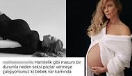 Hamileyken Kendisini Daha Dişi Hissettiğini Söyleyen Müge Boz'u Verdiği Pozlar Nedeniyle Yerin Dibine Soktular!