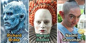 Özel Efekt ve Makyajın Gücüyle Hafızalarımıza Kazınan İkonik Film Karakterlerine Dönüşmüş 25 Ünlü
