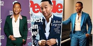 Idris Elba'yı Tahtından Etti! John Legend 2019'un Yaşayan En Seksi Erkeği Seçildi