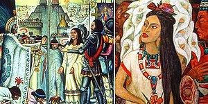12 Yaşında 3 Kere Dul Kalıp Feleğin Sillesini Yiyen, Tüm Gücünü Köleleri Azat Etmek İçin Kullanan Son Aztek Prensesi