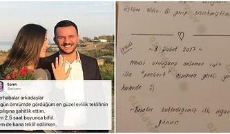 Allahım Nasip Et Be! Trabzonlu Gencin Yaptığı Romantik Evlilik Teklifine En Az Gelin Kadar Bayılacaksınız