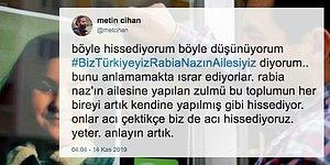 Biz Türkiyeyiz Rabia Naz'ın Ailesiyiz! Baba Şaban Vatan'ın Gözaltına Alınmasının Ardından Sosyal Medya Ayaklandı