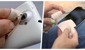 Temizleyeyim Derken Binlerce Liraya Aldığınız Akıllı Telefonunuza Zarar Vermeyin! İşte Telefonunuzu Pırıl Pırıl Yapacak Doğru Yöntemler