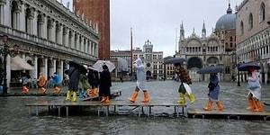 Son 53 Yılın En Büyük Su Baskını: Venedik'te OHAL İlan Edildi