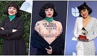 Ülkesindeki Olaylara Dikkat Çekmek İsteyen Şarkıcı Laferte Latin Grammy Ödülleri'ne Üstsüz Katılarak Damgasını Vurdu!