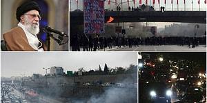 İran Dini Lideri Hamaney Benzin Zammına Destek Verdi: 'Eylemlerin Arkasında Devrim Karşıtları Var'