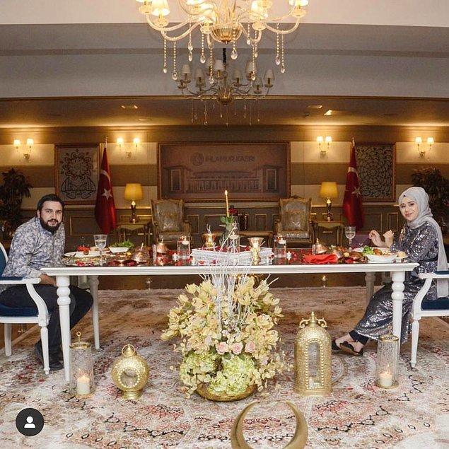 Söylemez çiftinin şatafatlı mevlit töreni dışında, sosyal medyada paylaştıkları lüks yaşamları da dikkatleri çekmişti.