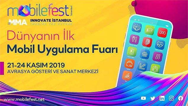 Dünyanın ilk Mobil Uygulama Fuarı mobilefest'i siz de kaçırmayın ve yerinizi ayırtın.