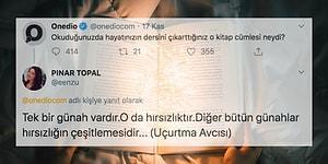 Hayatlarının Dersini Çıkarttıkları Kitap Cümlelerini Paylaşarak Dalıp Gitmemize Sebep Olan 35 Takipçimiz