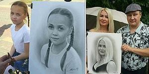 1 Saatte Yaptığı Gerçekçi Portre Çizimleriyle Sanata Adeta Çağ Atlatan Sokak Sanatçısı: Nikolay Yarakhtin