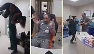 Doktor ve Hemşirelerden Hastanede Köpük Partisi!
