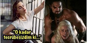 Biricik Khaleesi'miz Emilia Clarke Game of Thrones'un Çıplak Sahnelerinde Oynaması İçin Yapılan Baskıları Açık Açık Anlattı!