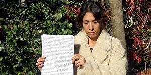 Bıçakladığı Eski Eşine Cezaevinden Mektup Yolladı: 'Mart Ayında Geleceğini Söyledi, Yardım Edin'