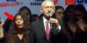 Kılıçdaroğlu, 'Göreceksiniz, Beyefendiyi Aşağıya İndireceğiz' Derken Tepkisiyle Gündeme Oturan Kadın!
