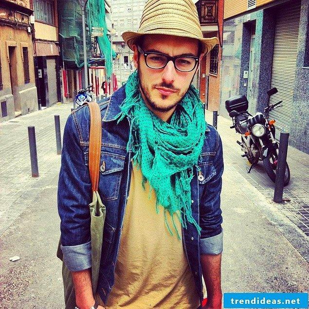 15. Hipster stili.