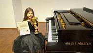 Alkışlar Minik Nil İçin: Piyanonun 'Altın Kızı' Viyana'dan Birincilikle Döndü 👏