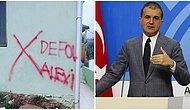 İzmir'de Alevi Bir Ailenin Evi İşaretlenmişti: AKP Sözcüsü Ömer Çelik'ten Yaşanan Olayla İlgili Açıklama