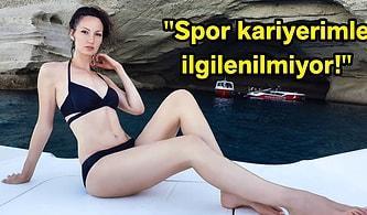 Dünya'nın En Uzun Bacaklarına Sahip Eski Basketbol Oyuncusu Ekaterina Lisina, Vücudunun Kariyerinin Önüne Geçmesine İsyan Etti!