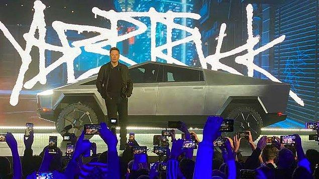 Bu haftanın gündemi ortalığı salladı. Tesla'nın CEO'su Elon Musk ilk elektrikli pikap kamyonunu Cybertruck'ı tanıttı.