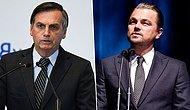 Brezilya Devlet Başkanı Bolsonaro, Aktör DiCaprio'yu Amazon Yangınlarını Finanse Etmekle Suçladı