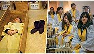 Kore'de Kişilerin Kendileri İçin Düzenlediği Sahte Cenaze Töreni Akımı Giderek Yayılıyor
