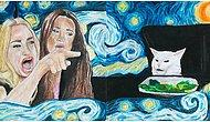 """""""El Emeği Göz Nuru"""" Çizimleriyle Hem Sanatını Konuşturmuş Hem de Güldürmüş 17 Sanatçı"""