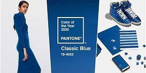 2020 Yılının Rengi Belli Oldu: Pantone Klasik Mavi'yi Seçti!